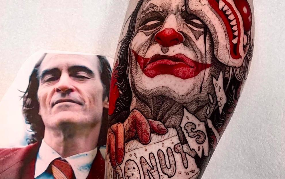 joker Tattoo foto 1 foto tattoo татуировки