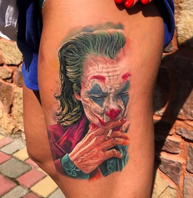 joker Tattoo foto 15 foto tattoo татуировки