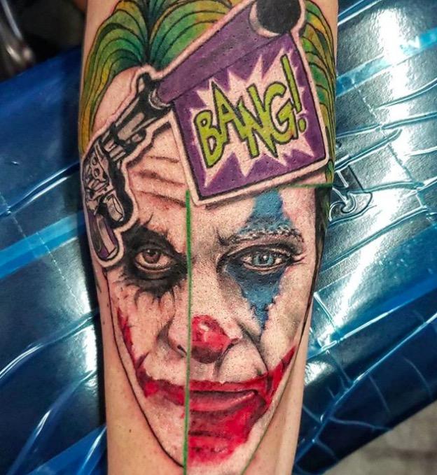 joker Tattoo foto 18 foto tattoo татуировки