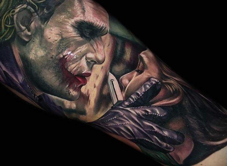 joker Tattoo foto 2 foto tattoo татуировки