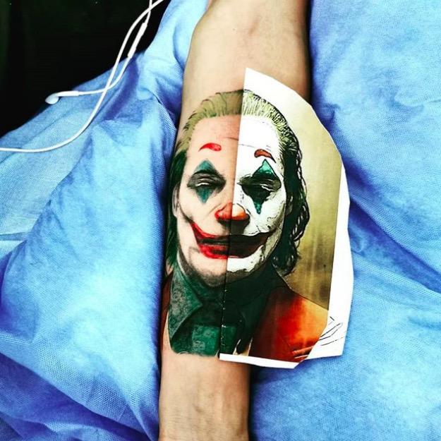 joker Tattoo foto 21 foto tattoo татуировки
