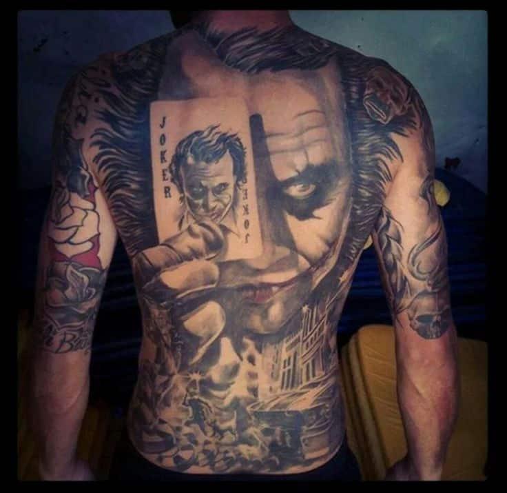 joker Tattoo foto 3 foto tattoo татуировки