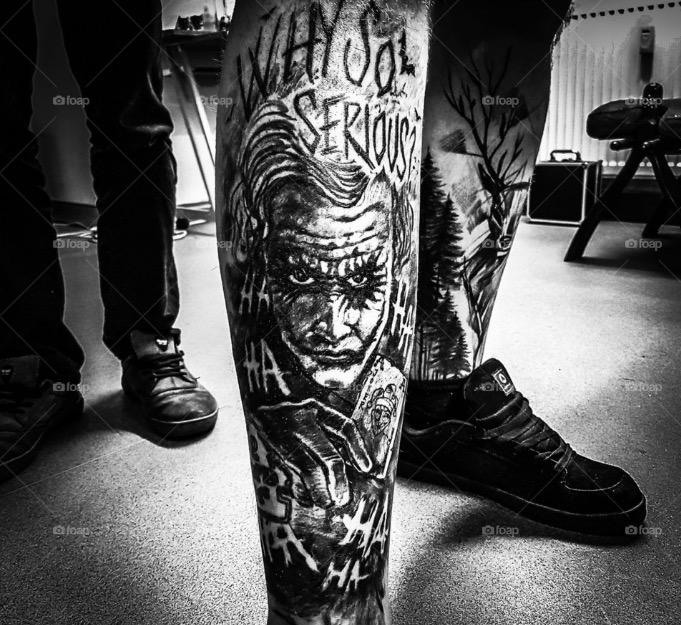 joker Tattoo foto 4 foto tattoo татуировки