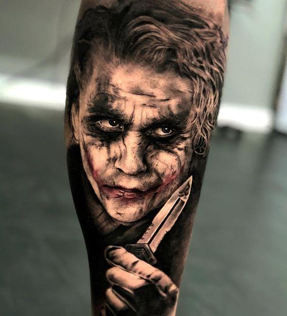 joker Tattoo foto 5 foto tattoo татуировки