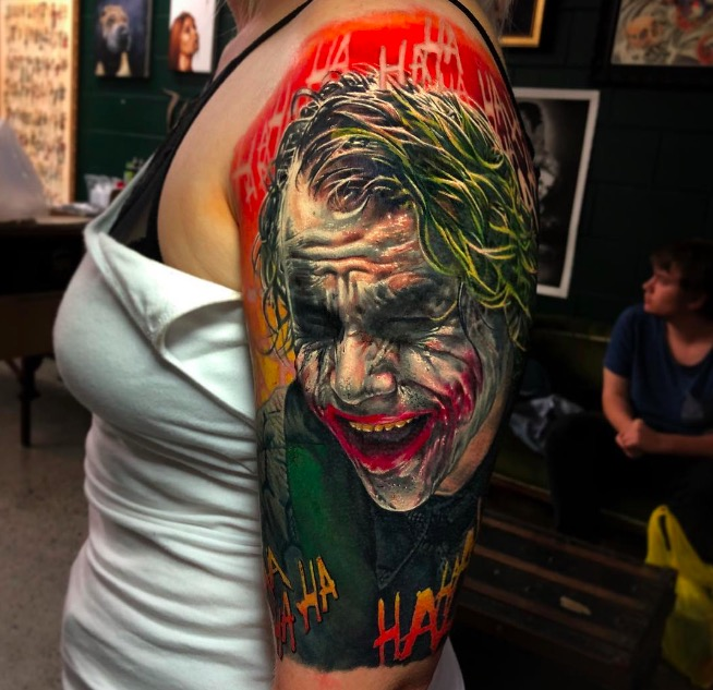 joker Tattoo foto 6 foto tattoo татуировки