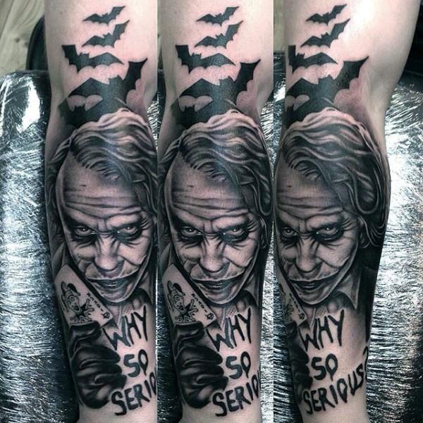 joker Tattoo foto 8 foto tattoo татуировки