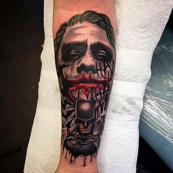 joker Tattoo foto 9 foto tattoo татуировки