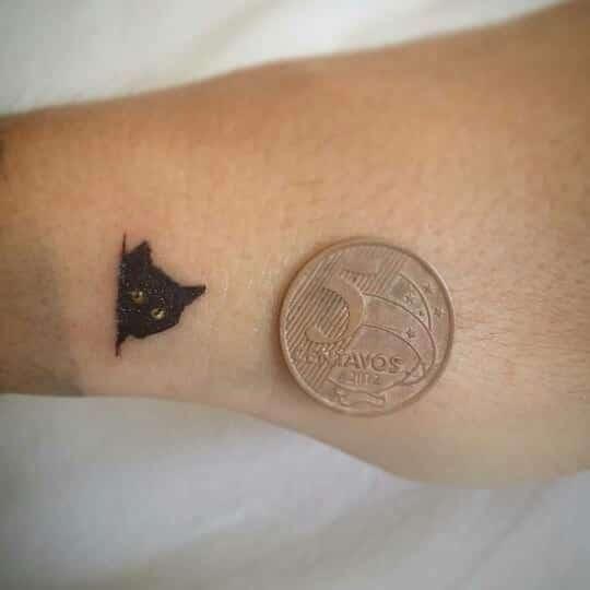 cat tattoo foto 11