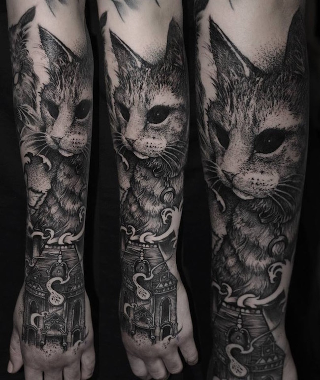 cat tattoo foto 12 foto tattoo татуировки