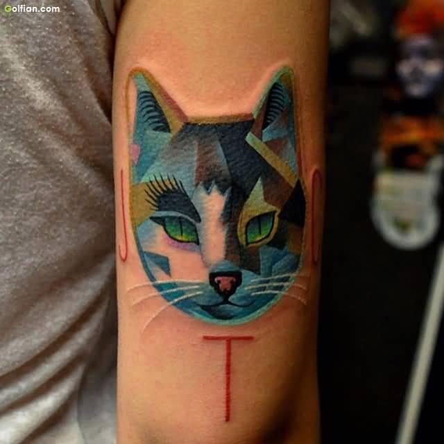 cat tattoo foto 15