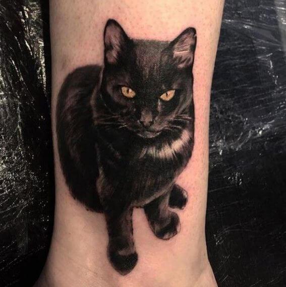 cat tattoo foto 23