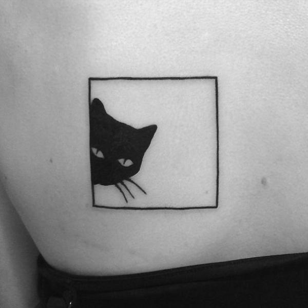 cat tattoo foto 6