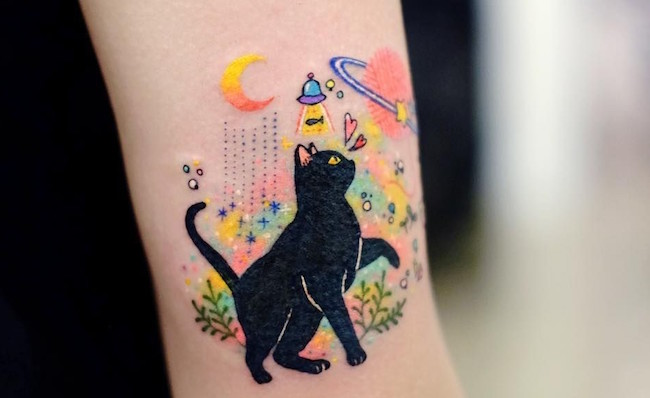 cat tattoo foto 9 foto tattoo татуировки