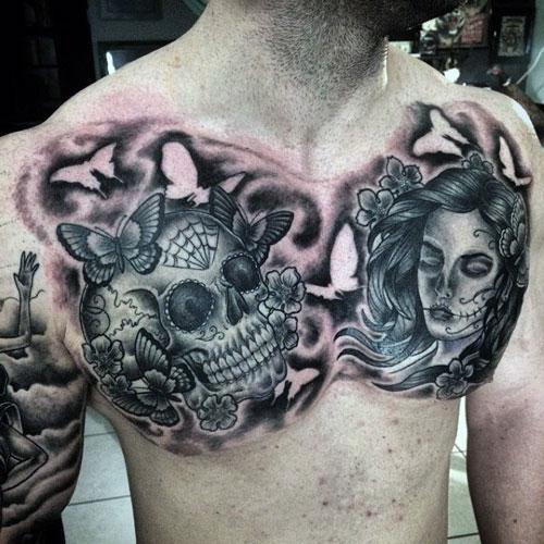 skull tatu foto 11