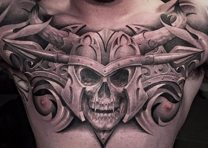 skull tatu foto 18