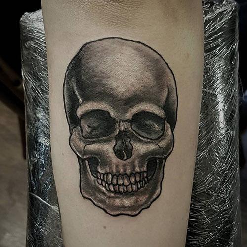 skull tatu foto 7
