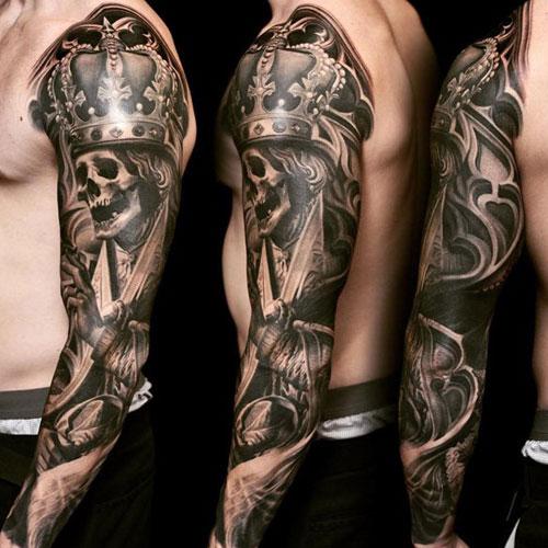 skull tatu foto 8