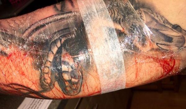 tatuirovka zazhivaet 4 foto tattoo татуировки