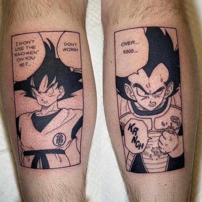 anime manga tattoo foto 6