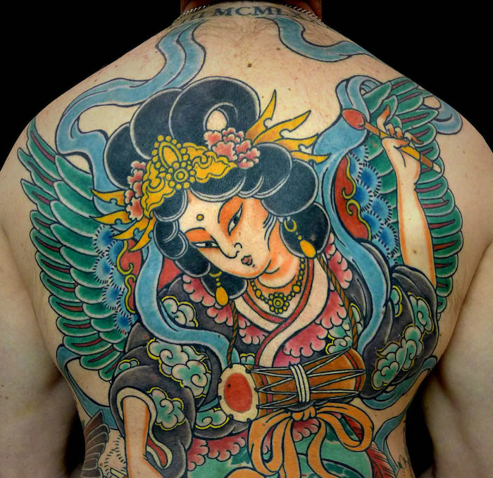 япония тату фото