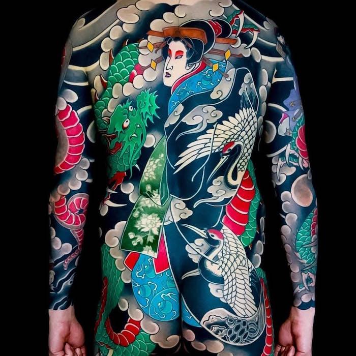 japanese tatu foto 8