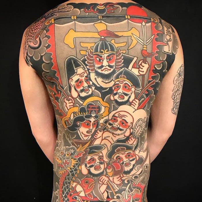 japanese tatu foto 9