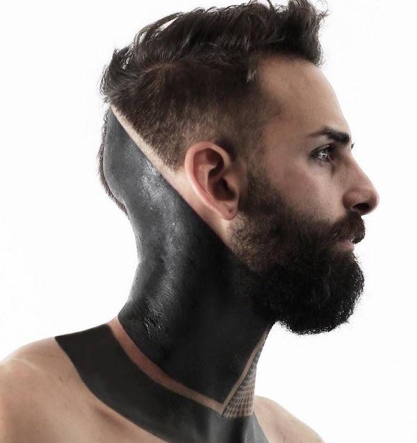 tatu neck 2 foto tattoo татуировки