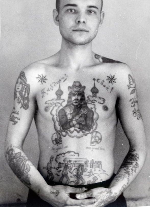воровские татуировки