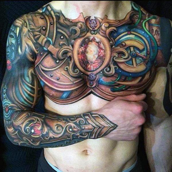 chest tatu na grudi 27 foto tattoo татуировки