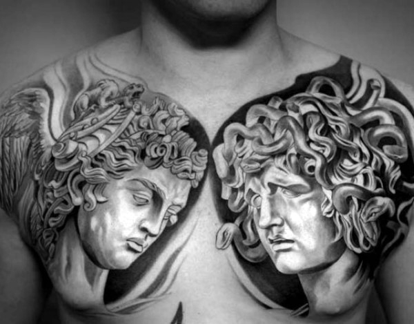 chest tatu na grudi 31 foto tattoo татуировки