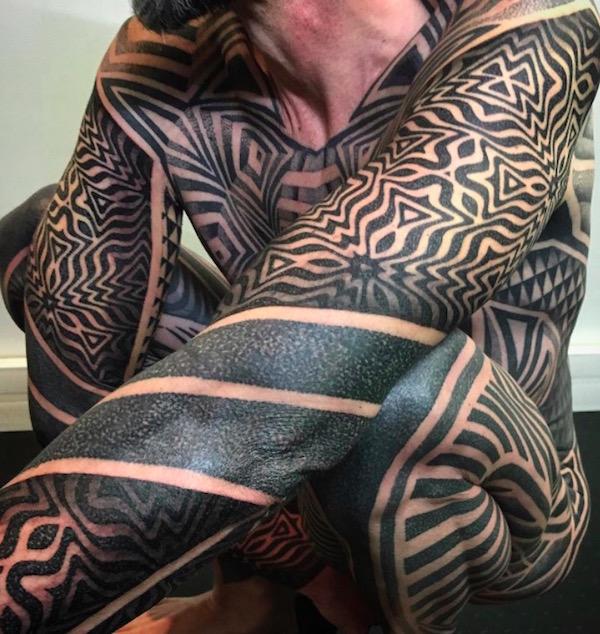 optical illusion lewis ink 18 foto tattoo татуировки