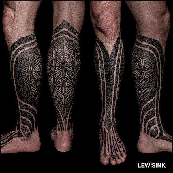 optical illusion lewis ink 22 foto tattoo татуировки