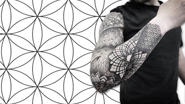tattoo geometry foto