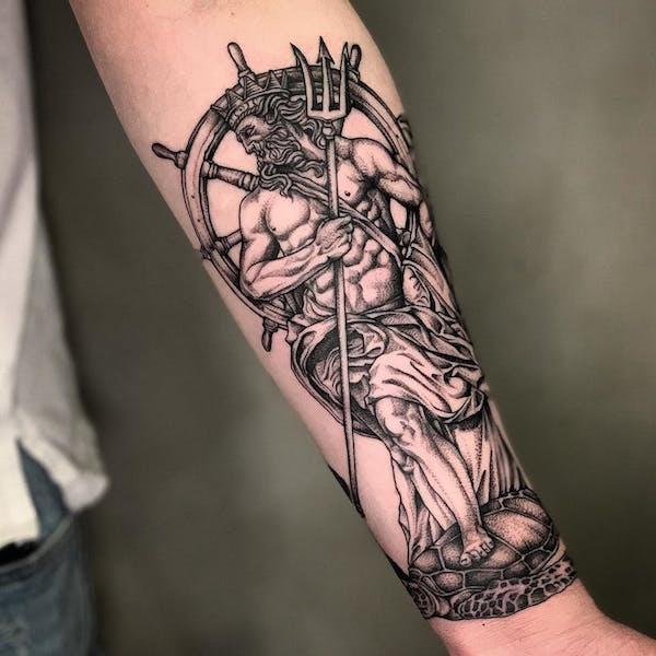 trezubets tatu foto 12 foto tattoo татуировки