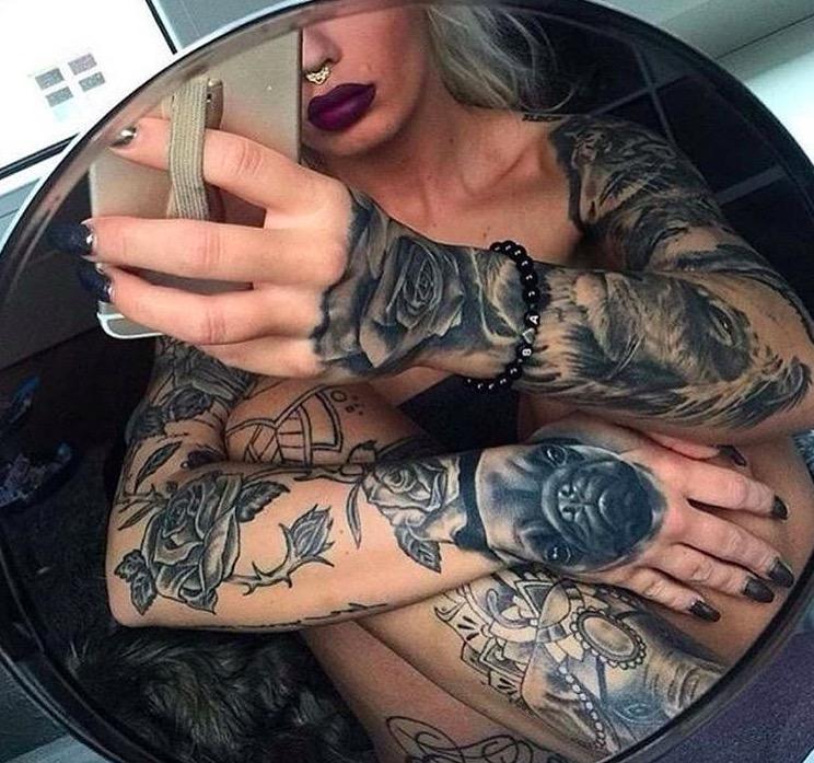 sexy woman tattoo foto 15 foto tattoo татуировки