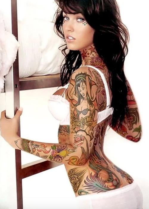 sexy woman tattoo foto 23 foto tattoo татуировки