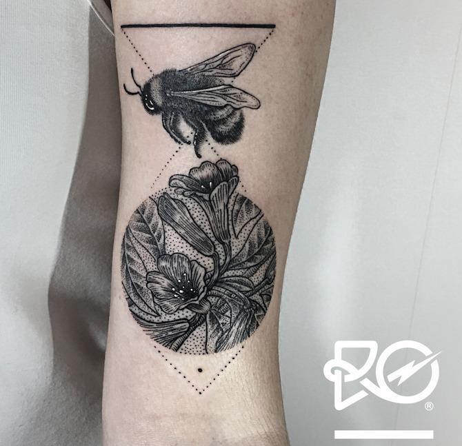 Что значит ПЧЕЛА в татуировке?4