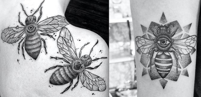 Что значит ПЧЕЛА в татуировке?1