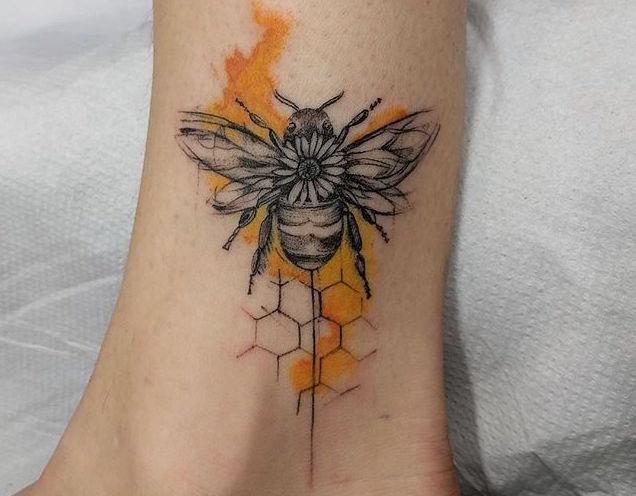 Что значит ПЧЕЛА в татуировке?3