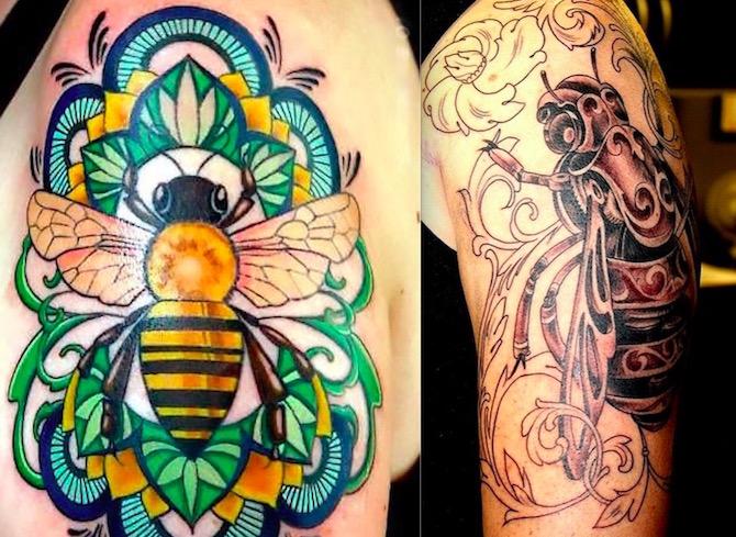 Что значит ПЧЕЛА в татуировке?2