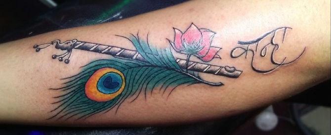 КРИШНА : символизм и значение татуировки6