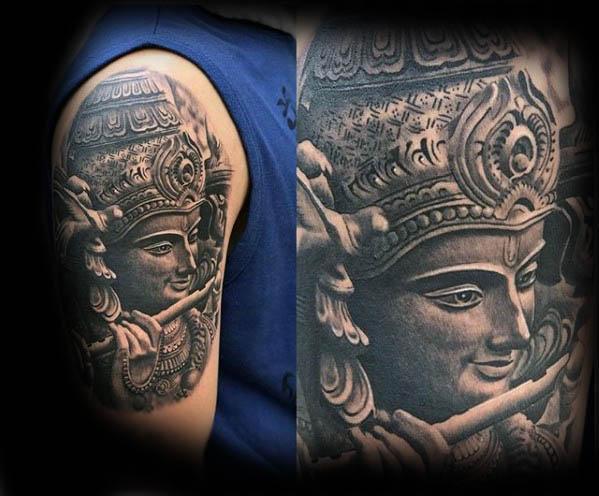 КРИШНА : символизм и значение татуировки5