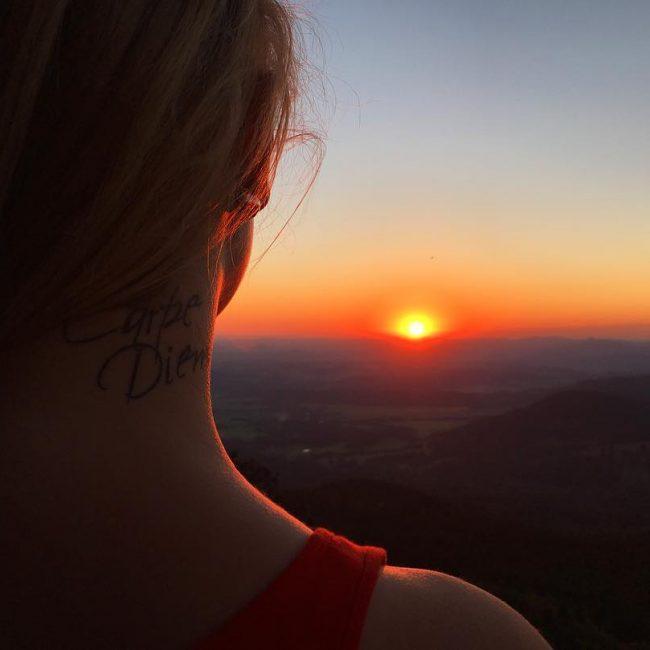 Фото и значение татуировок Carpe Diem15