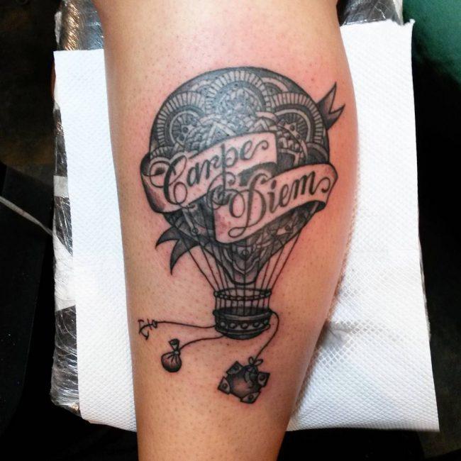Фото и значение татуировок Carpe Diem56