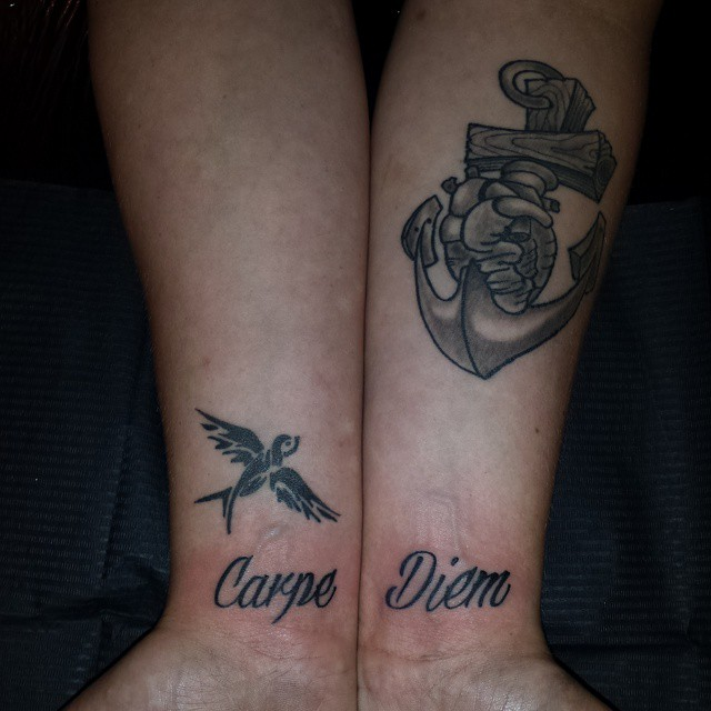 Фото и значение татуировок Carpe Diem64